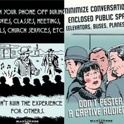 10条不可不知的手机礼仪 看看你犯过哪几项?