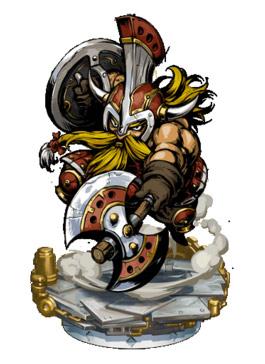 《热血兄弟》矮人斧战士 II +