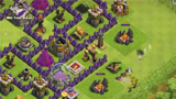 COC抢资源视频:八本玩家抢十本6000黑油