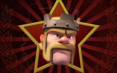 COC玩家分享PS囧图第二期:蛮王穿越红色警戒