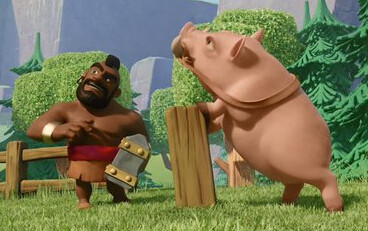 COC壁纸:部落冲突5月野猪骑士主题壁纸系列