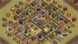 COC玩家分享:11本部落战防三星阵(1)