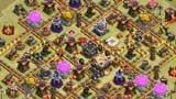 部落冲突玩家分享:十一本部落战阵形