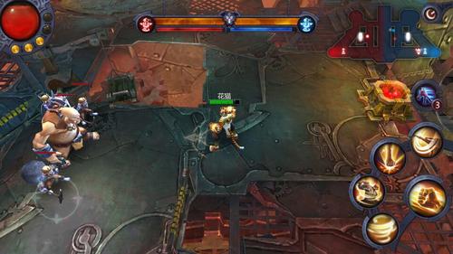 《暗黑血统》3V3战场泰姆瑞尔遗迹攻略