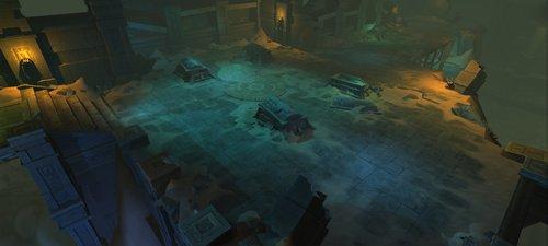 《暗黑血统》游戏概念设计图-场景