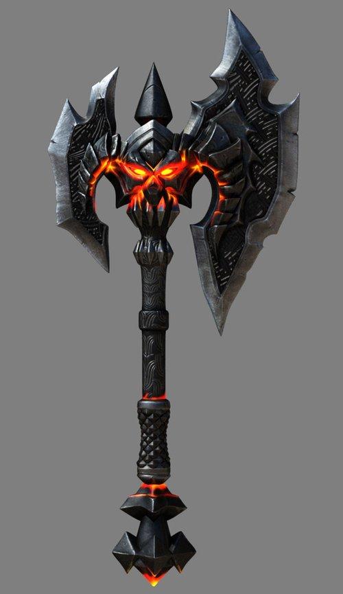 《暗黑血统》各角色武器图鉴赏