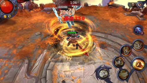 《暗黑血统》斗神技能展示 游戏截图