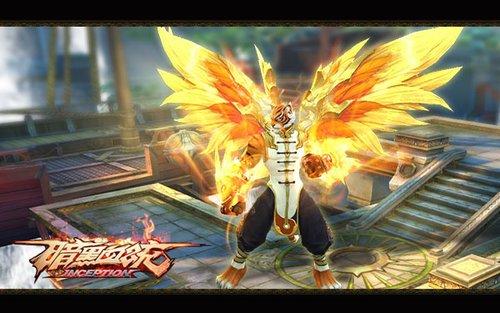 全新玩法今日开启《暗黑血统》三级羽翼炫目降临