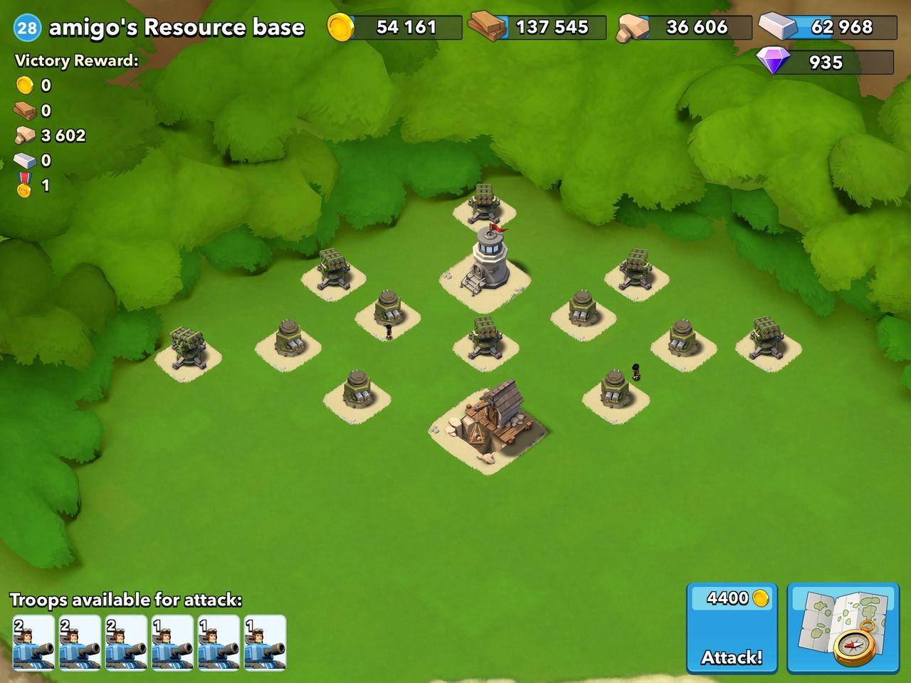 海岛奇兵 资源岛阵型