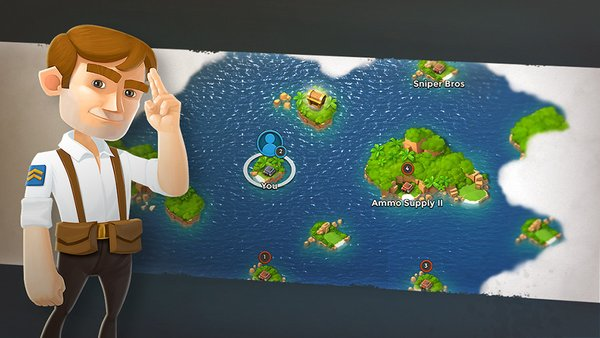 Boom beach 即将更新12.18.1 地图画面优化