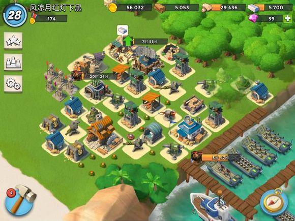 《海岛奇兵》非r玩家游戏心得:养鱼之路