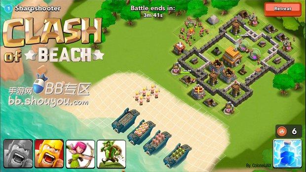 每周�逋� 玩家自制 海岛奇兵 游戏海报