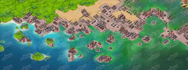 全球首发!《海岛奇兵》特遣队能量基地大地图