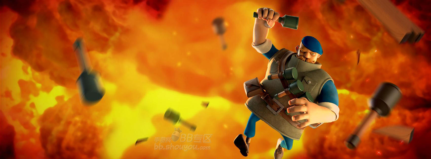 《海岛奇兵》12月9日版本更新:投弹兵登场!