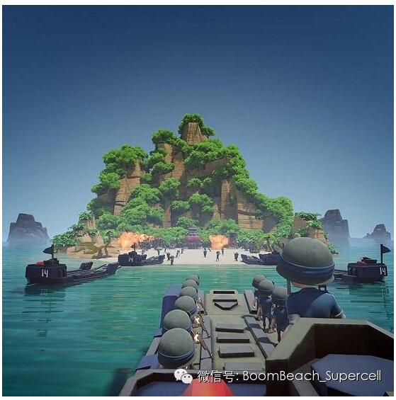《海岛奇兵》游戏载入主画面官方原设计稿
