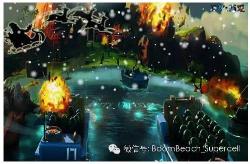《海岛奇兵》圣诞节主题活动艺术作品集锦