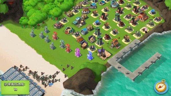 海岛奇兵新手攻略:胖妹烟雾爆本流路线方法。