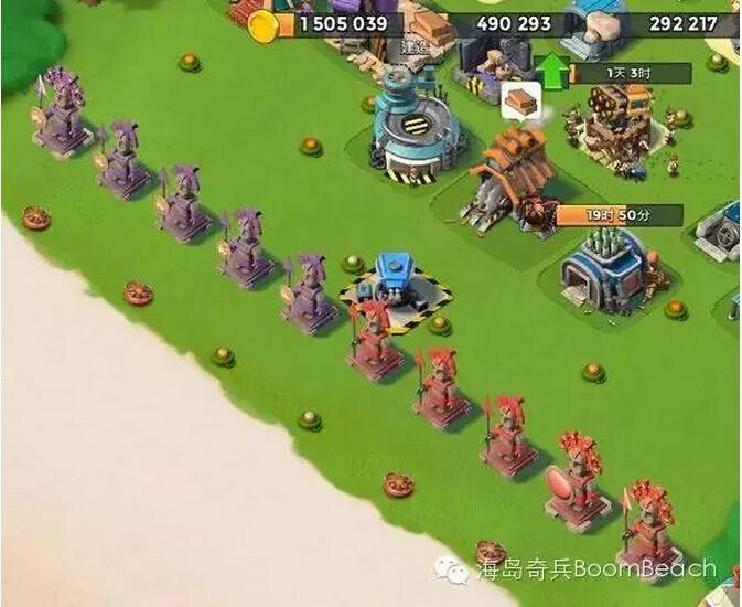 《海岛奇兵》玩家冲杯心得:雕像的选择!