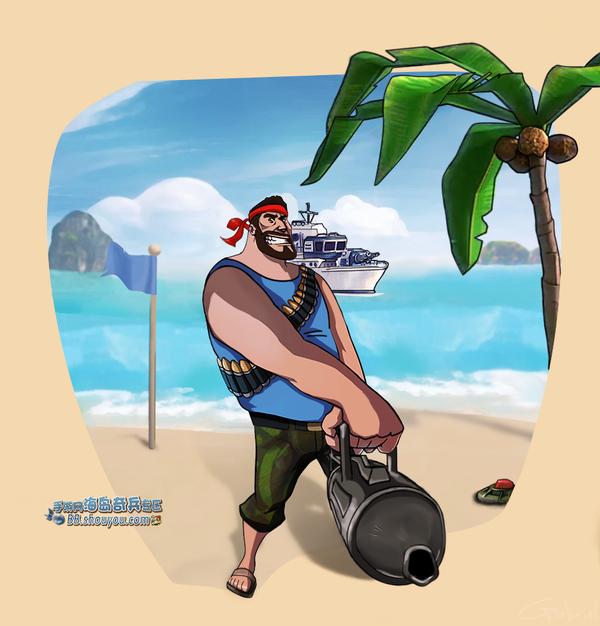 海岛奇兵九月玩家作品集:小霸王版海岛奇兵