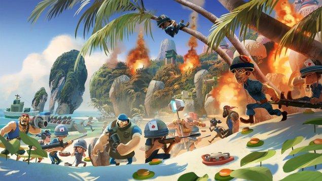画风精美!《海岛奇兵》官方最新宣传图