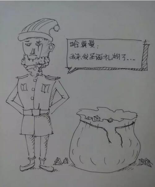 圣诞礼物 《海岛奇兵》玩家圣诞节作品集