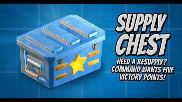 《海岛奇兵》三月更新预告第三弹:补给箱