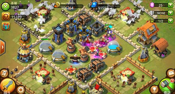 《城堡争霸》保护金矿新人必备布局