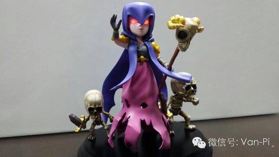 coc玩家自制女巫手办成品