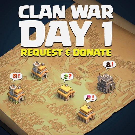部落战FAQ:准备日和战斗日