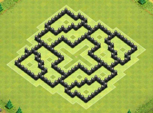 七本部落对战专用 强力护本引导阵