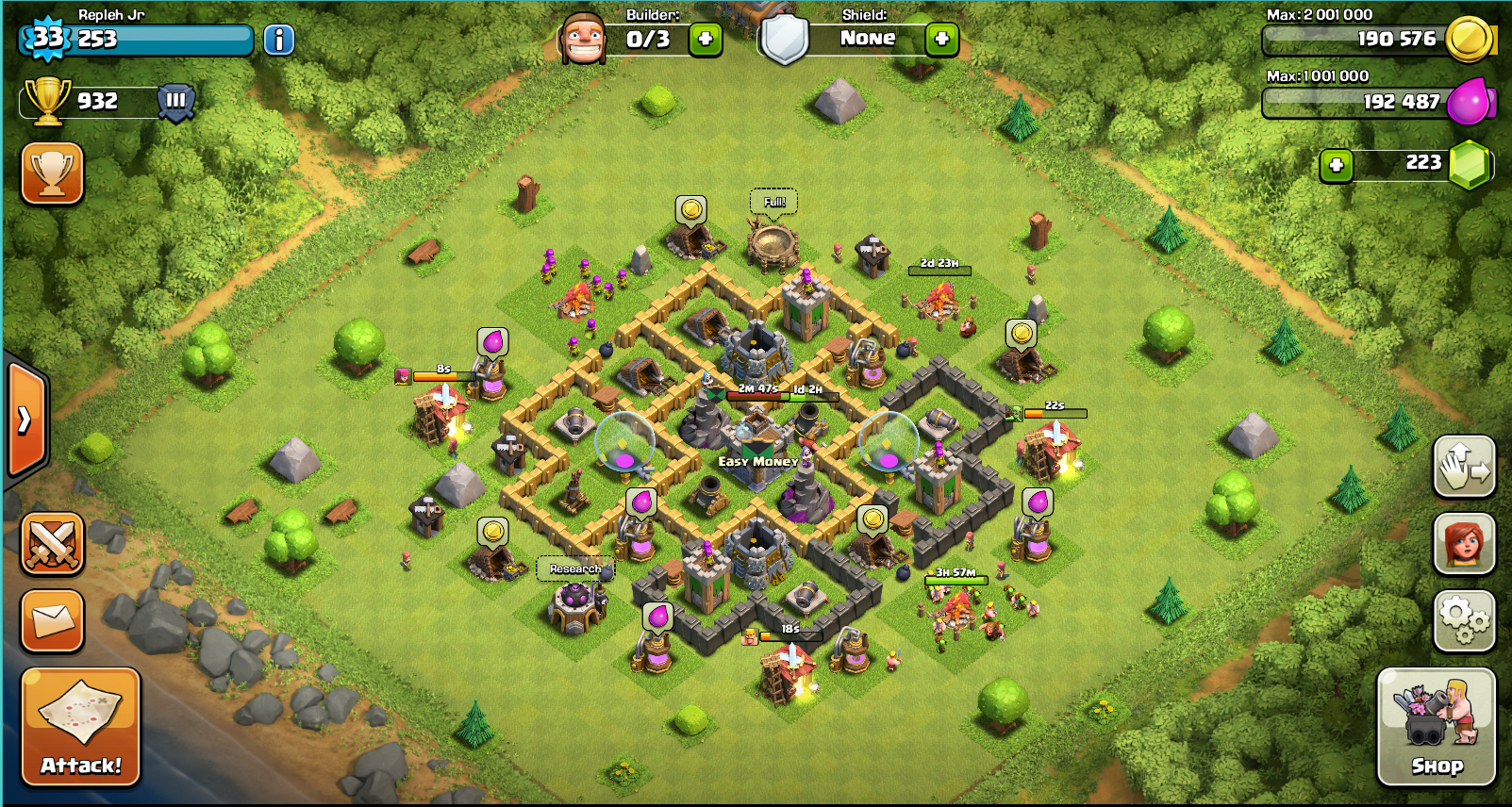 clash of clans how to make a good base