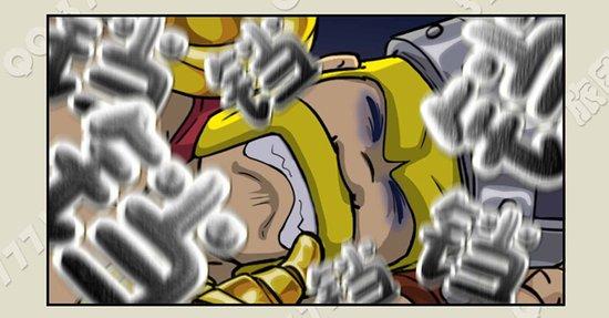 玩家手绘COC四格漫画 大魔王的coc漫画