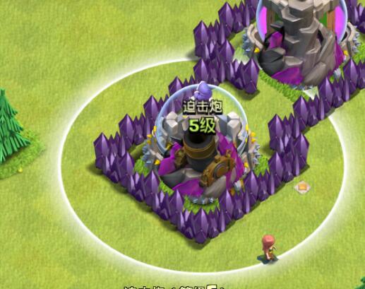 第二个bug位:法师塔,弓箭塔和圣水瓶和金库