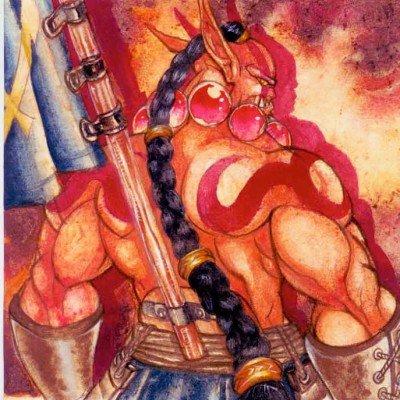 《刀塔传奇》玩家手绘剑圣图集霸气可爱萌萌哒