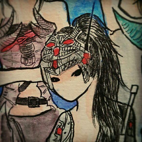 《自由之战》灵魂画手手绘女英雄全员