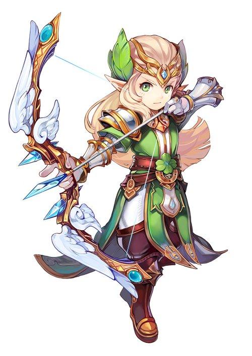 《魔力宝贝》弓手:精灵贵族,百步穿杨