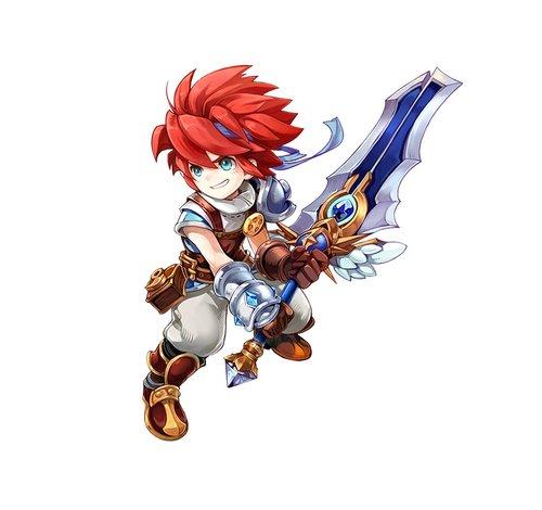 《魔力宝贝》剑士:法兰城勇敢的守护者