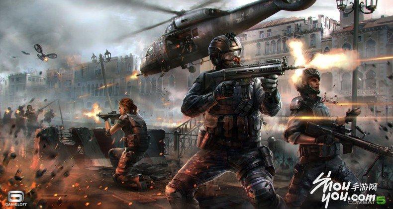 gameloft公开《现代战争:黑视》游戏新内容