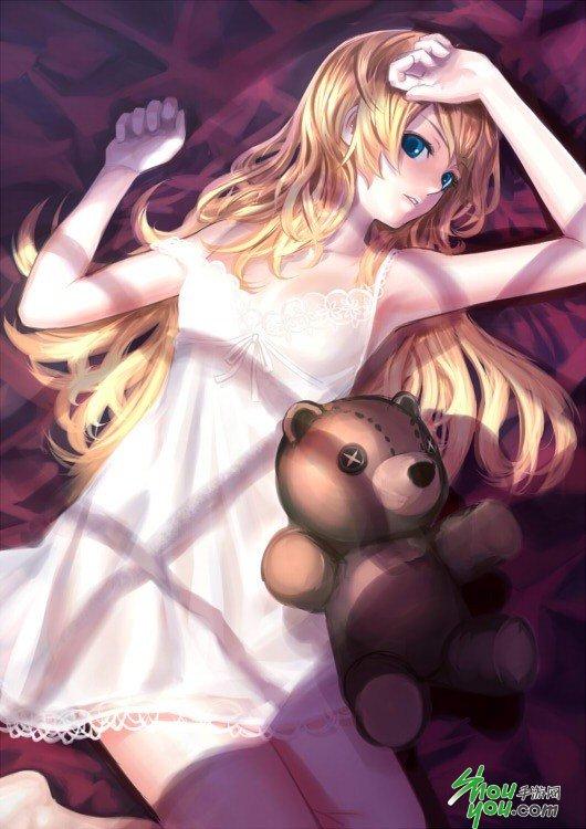 二次元睡衣少女众生相欣赏(五)