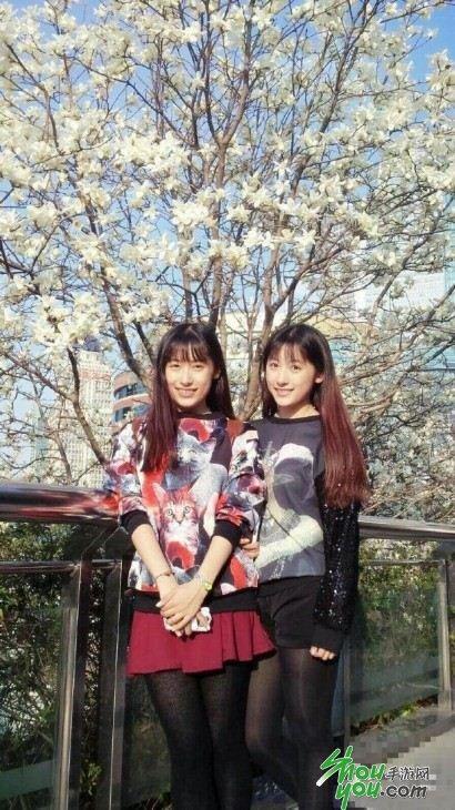 复旦双胞胎校花爆红 生活照曝光(组图)