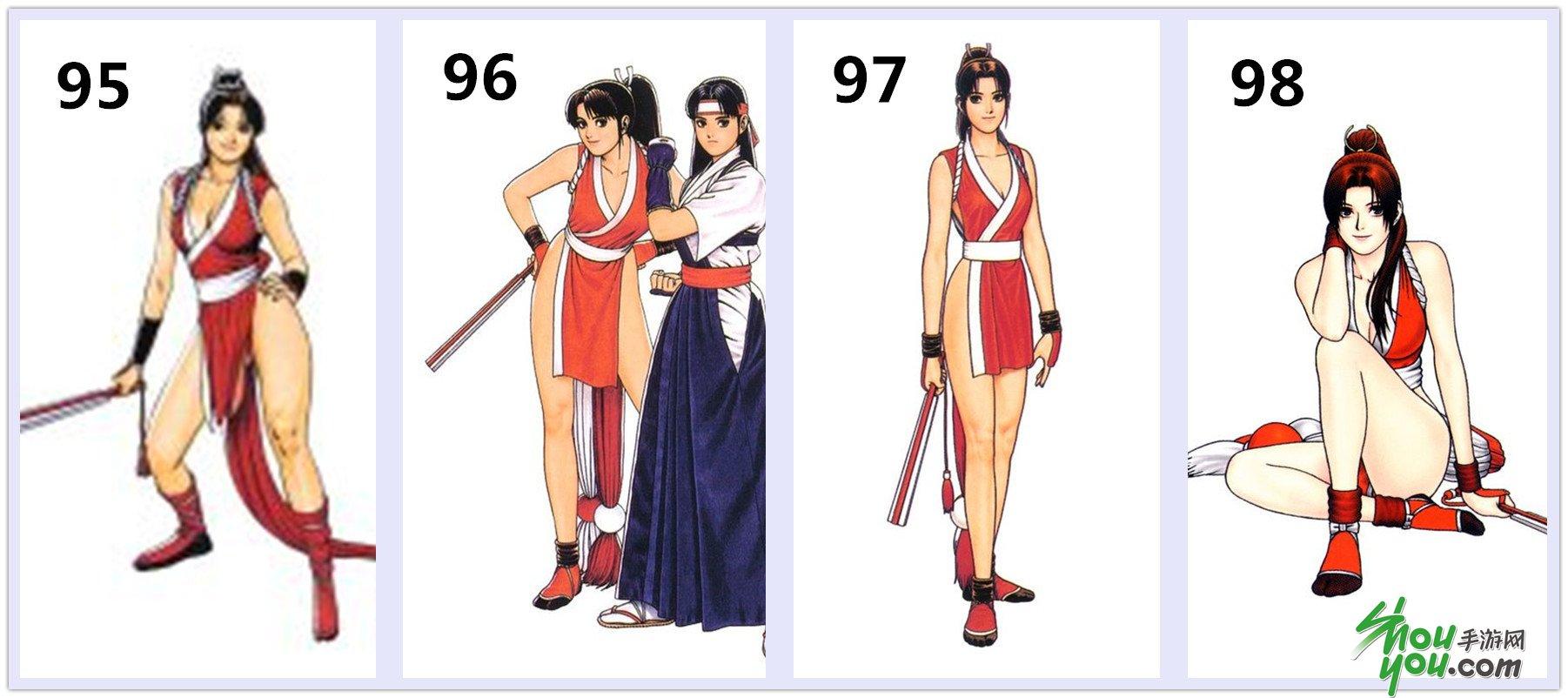 亚洲色囹��9olz)�_曾是惊鸿照影来 从《拳皇97ol》看kof历代角色