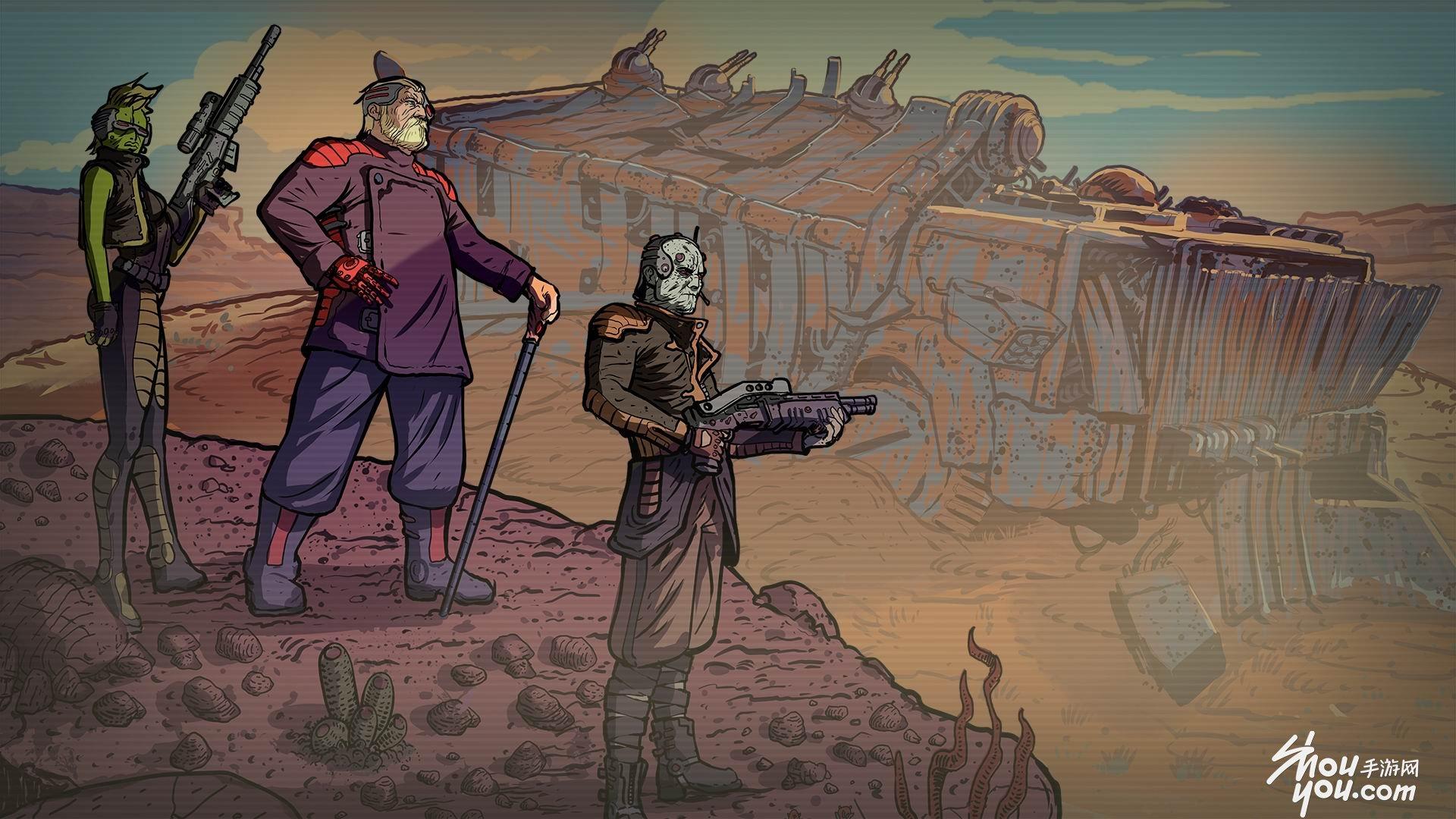 国外游戏开发商Skyshine在今年的E3游戏展期间公布了旗下回合制策略RPG新作《混乱疯人院》(Bedlam)的相关消息,并宣布游戏将在今年晚些时候登陆PC平台,近日该作又传来了将登陆iOS平台的好消息,一起先通过视频来了解下。  Skyshine Games是一个一支由三人组成的小团队,但游戏的第一印象却大作范儿十足,游戏拥有细腻的画风,恰如其分的营造末日之感,游戏的灵感来自《FTL》和《XCOM》,玩家将身处在一个大灾变后的世界,将要离开超大城市拜占廷,并且通过混乱疯人院才能达到阿兹特克市,游戏世界