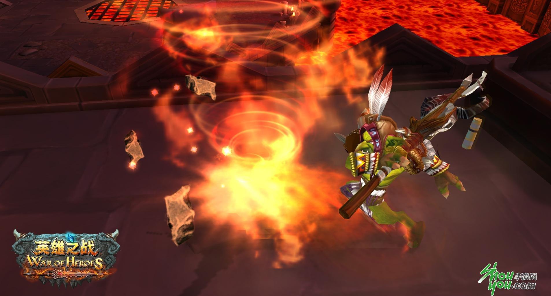 《英雄之战》炎术士火爆攻略