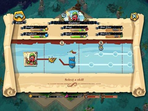 《海盗掠夺战》前期抢劫兵种阵型推荐