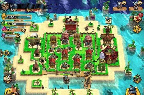 三本阵型图 《海盗掠夺》通用阵型攻略