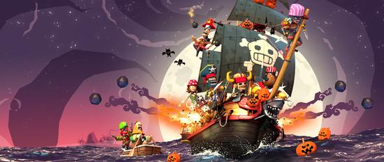 《海盗掠夺》万圣节图标及壁纸分享