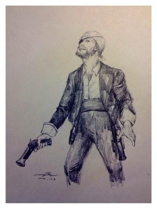 玩家精美手绘作品:海盗掠夺火枪手+主宰