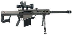 全民突击巴雷特M82狙击枪图鉴 巴雷特M82属性