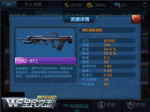 S级步枪QBZ-95全面解读 实用的突击步枪