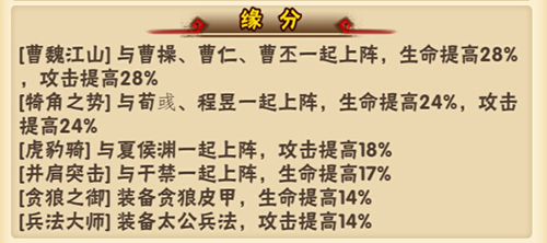 《少年三国志》攻略:武将夏侯惇介绍